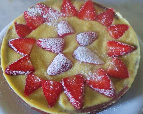 Klubnichnyj tort