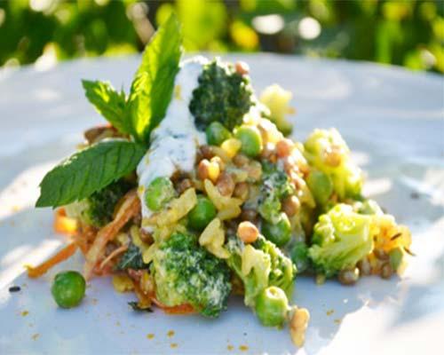 Indijskij salat