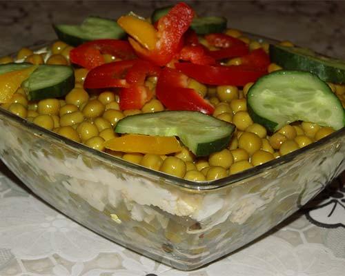 salat s gribami