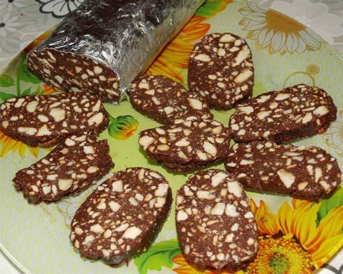 shokoladnaya kolbaska