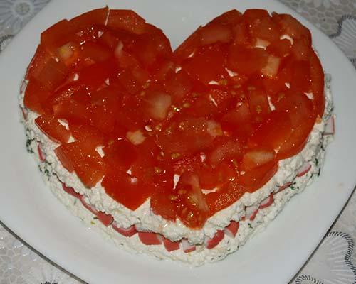 sloj pomidory