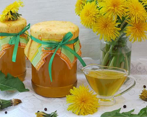 Как сделать из одуванчика мёд