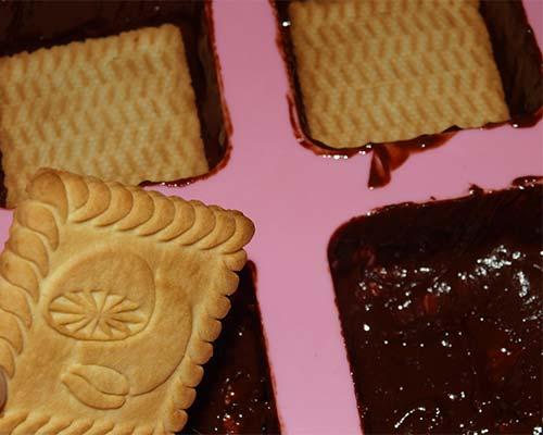 печенье в формах