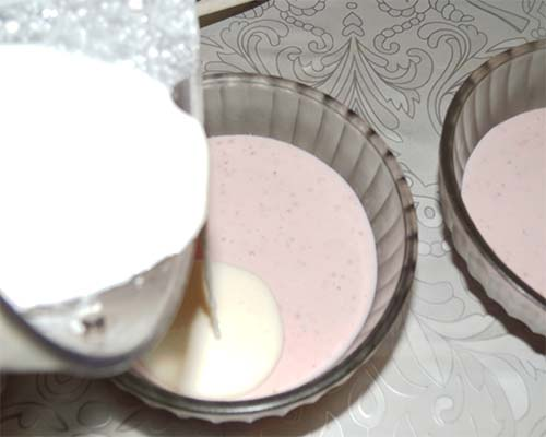 десерт с клубникой