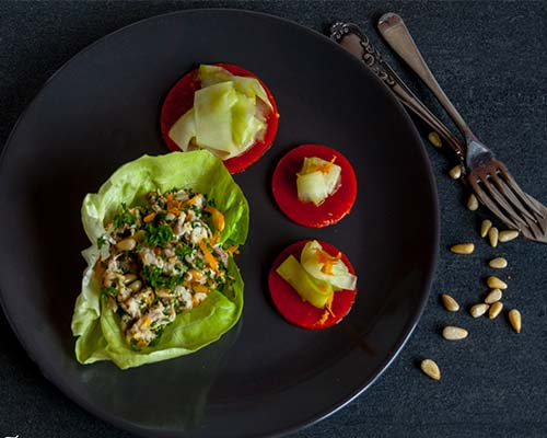 Salat is makreli