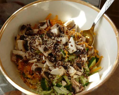 Salat vegetarianskyj