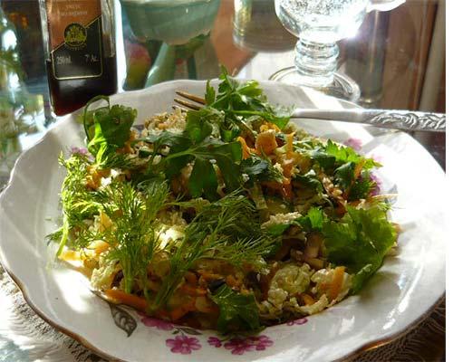 Vegetarianskyj salat