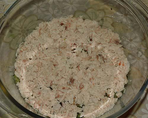kuritsa v salate