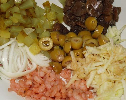 Vse produkty dlya salata 2