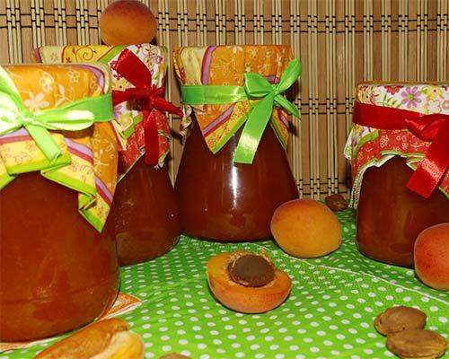 Варенье из абрикосов без косточки