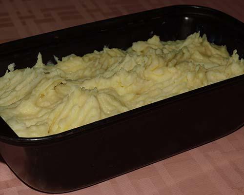 Итоговый картофельный слой