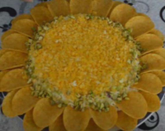 Салат здоровье с чипсами рецепт с