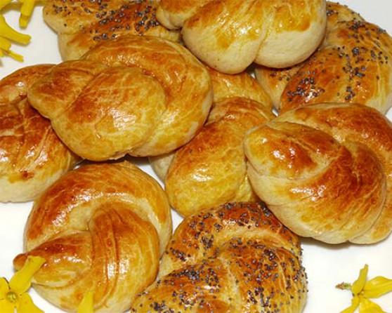 Рецепт булочек в духовке на сухих дрожжах пошагово